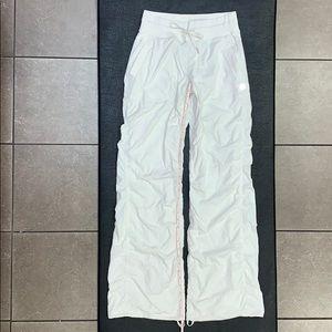 Lululemon Cream/Ivory Lined Dance Studio Pants 4